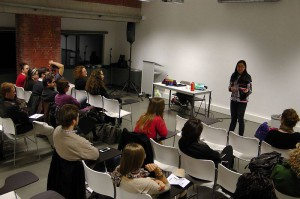 17 March 2014 Linh Do inspirational talk at ICAB